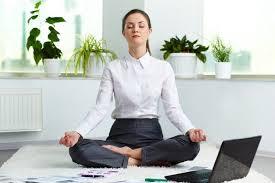 Medituoti galima net darbo metu
